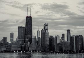 Обои Chicago, чикаго, америка, сша, здания, небоскребы, высотки