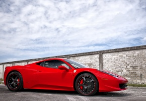 ���� ferrari, 458 italia, red, wheels, �������, ������, �������, ����, ������, ����, �������, ������