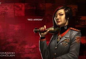 Обои Command, Conquer, 2013, девушка, бомба, Китай, Generals