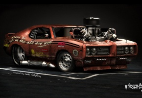 ���� Pontiac GTO, American Muscle, Hot Rod, Car