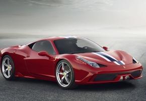Ferrari, 458, Speciale, 2014, Italy, Red