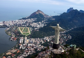 Обои рио-де-жанейро, rio de janeiro, brazil, бразилия, город, океан