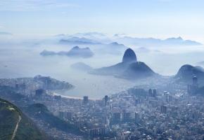 Рио-де-Жанейро, Rio de Janeiro, город, дымка