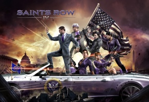���� ����, �����, ���������, Washington, ������, Deep Silver, Saints Row 4