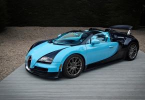 Обои Bugatti, Veyron, 16.4, Grand Sport, Vitesse