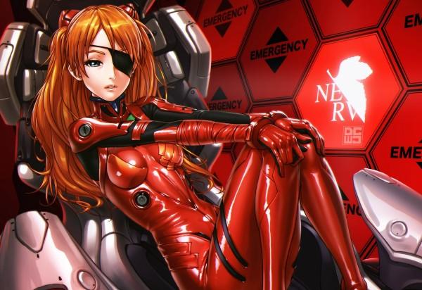 аниме девушки в красном: