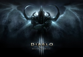 Обои Diablo III: Reaper of Souls, Expansion Set, Malthael, Blizzard, Reaper, Angel of Death