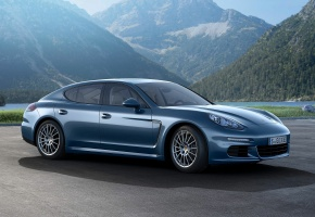 Обои Porsche, Panamera, Diesel, 2014, Германия, Germany