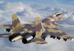 Su-35, су-35, многоцелевой, самолет, сверхманевренный