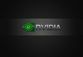Обои Logo, Nvidia, логотип, значок, green