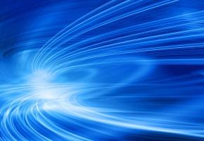 движение, прозрачность, лучи, изгибы, Синева, линии