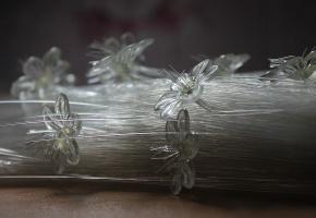Цветы, стеклянные, сноп