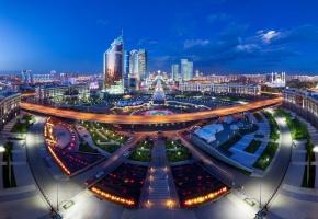 Обои Астана, Казахстан, Панорама