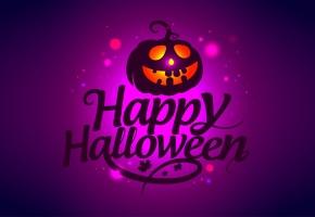 Обои happy halloween, scary, счастлива, Хэллоуин, жутко, страшно, зло тыквы, похожий на привидение