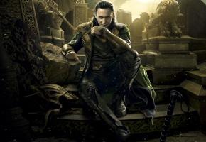 Обои Thor 2, The Dark World, Тор 2, локи, царство тьмы