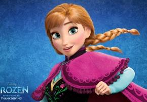 Обои Frozen, Walt Disney, Animation Studios, Холодное Сердце, 2013, Anna