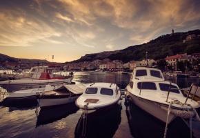 Обои Croatia, Башка, Хорватия, бухта, порт, катера, лодки