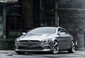Обои концепт, concept, mercedes-benz, мерседес, Mercedes csc, купе