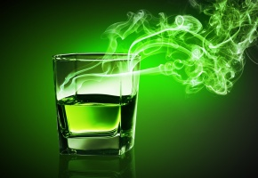 Напитки, drinks, Пламя, стакан, выпивка, фон