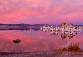 Обои California, U.S.A., США, Калифорния, озеро, камни