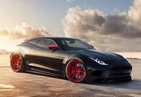���� Jaguar X-C16, �����, ������, concept, virtual tuning, ������, ��������