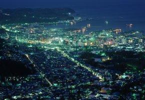 Обои япония, город, хоккайдо