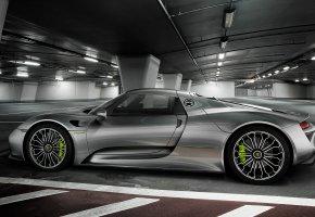 Обои 2015, Porsche, 918, Spyder, порше, спайдер