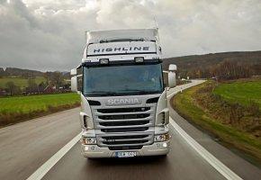 Scania, R480, Highline, трасса, дальнобойщик
