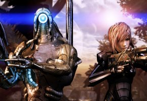 ���� Mass Effect, Final Fantasy, Legion, ������, Lightning, �������, �����, n7, ������