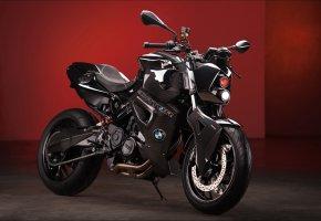 Обои predator, байк, мотоцикл, tuning, бмв, f800 r, bmw