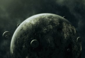 ���� planets, moons, �������, ����, �������, ������, darkness