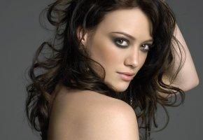 Обои актриса, модель, волосы, взгляд, глаза