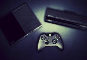 Обои Xbox, one, приставка, джойстик