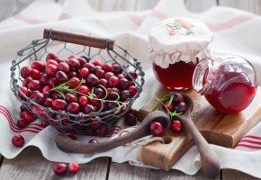 Обои Anna Verdina, cranberry, jam, еда