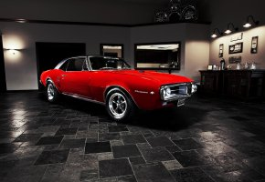 ���� Pontiac, Firebird, 1967, muscle car, �������, �������, ������ ���