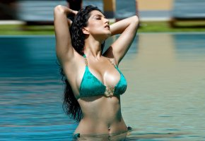 Обои sunny leone, bollywood, celebrity, actress, model, girl, beautiful