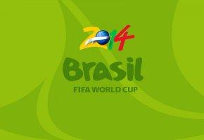 Обои футбол, бразилия, чемпионат мира, 2014