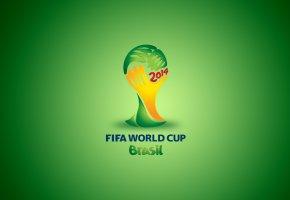 Обои World cup, Brasil, Чемпионат мира, футбол, кубок