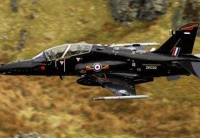 Обои Hawk, самолёт, оружие, полет