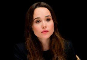 Обои Ellen Page, пресс-конференция фильма, Люди Икс:Дни минувшего будущего