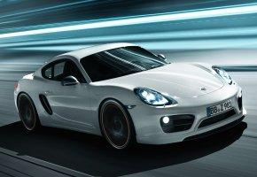 Обои Porsche, Cayman, Порше, Кайман, тюнинг, tuning, передок