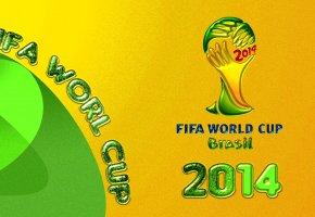 Обои футбол, Бразилия, кубок мира