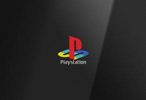 Обои Playstation, Sony, Logo, логотип