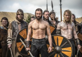 Обои воины, историческая, сериал, драма, Викинги
