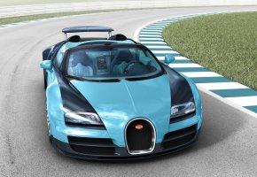 Обои Bugatti, Veyron, Grand Sport, 2013, Spider