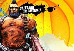 Обои Borderlands 2, оружие, патроны, salvador