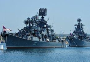 Обои Россия, флот, корабли, эсминцы, Москва