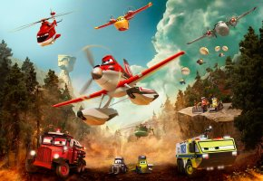 ���� Planes:Fire and Rescue, ��������:����� � ����, When others fly out, heroes fly in