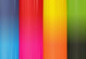 Обои Синий, голубой, красный, оранжевый, жёлтый, пурпурный, цвета, палитра, краски