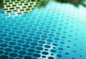 Обои узоры, краски, круги, абстракция, отражение
